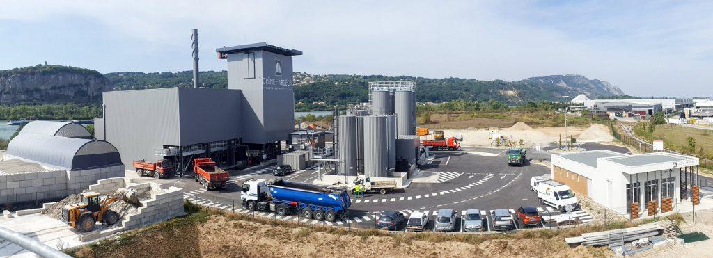 Usines de fabrication d'enrobés et d'émulsions, Portes-lès-Valence : Drôme Ardèche enrobés émulsions