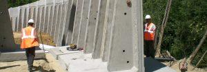 Mur soutènement - GRT gaz Tersanne