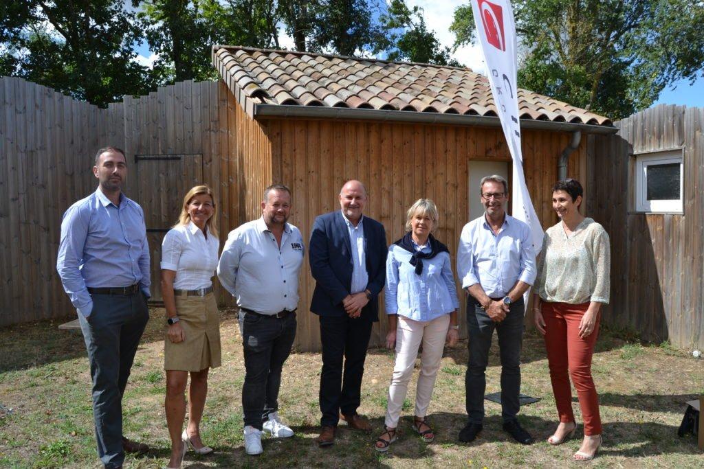 Le comité stratégique du Groupe Cheval et les dirigeants de Migma et Sodetec
