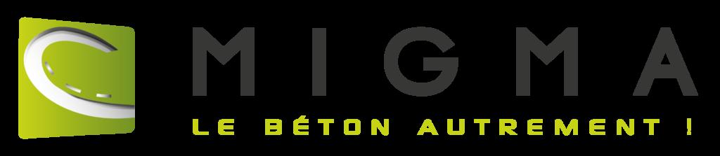 Logo de l'entreprise Migma : le béton autrement