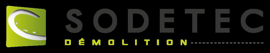 Logo de l'entreprise Sodetec, spécialisée dans la démolition et la déconstruction